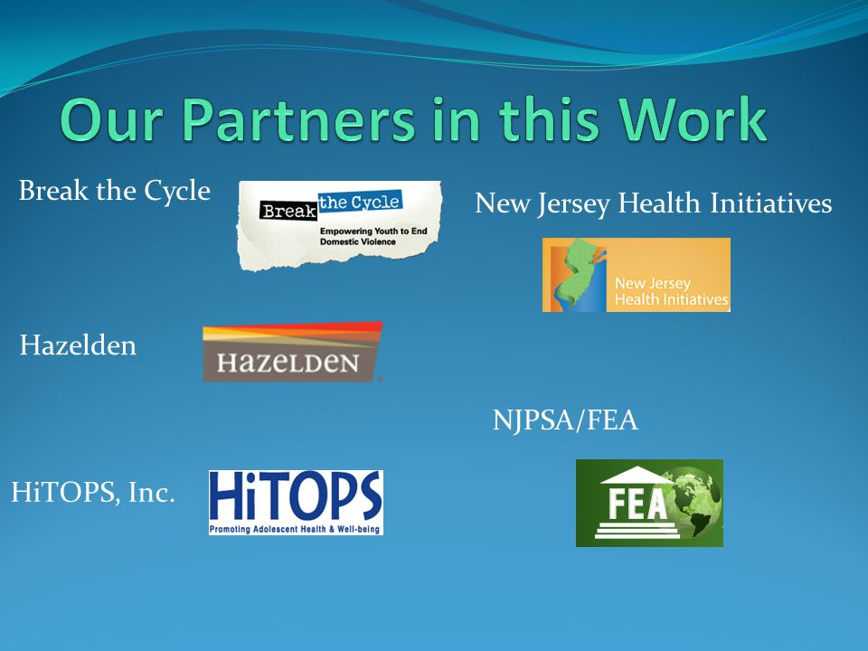 Our Partners in this Work