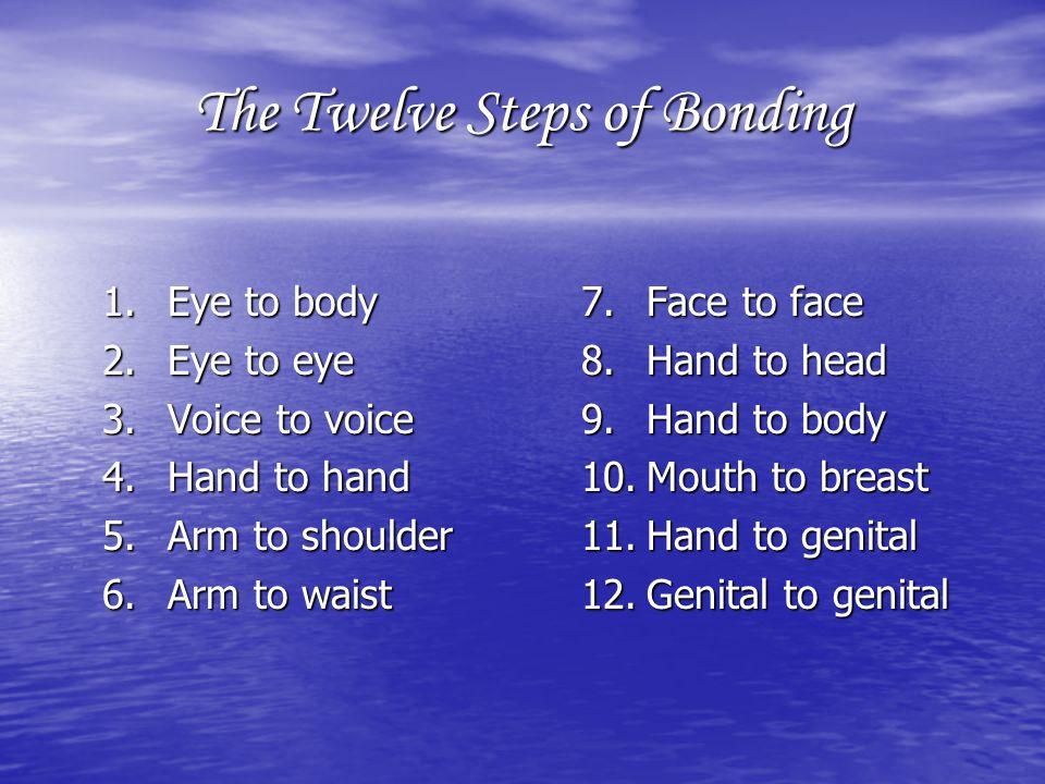 The Twelve Steps of Bonding