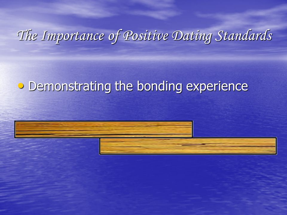 The Importance of Positive Dating Standards