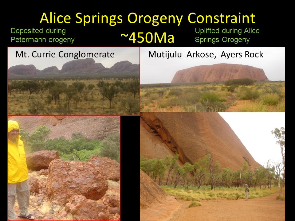 Alice Springs Orogeny Constraint ~450Ma