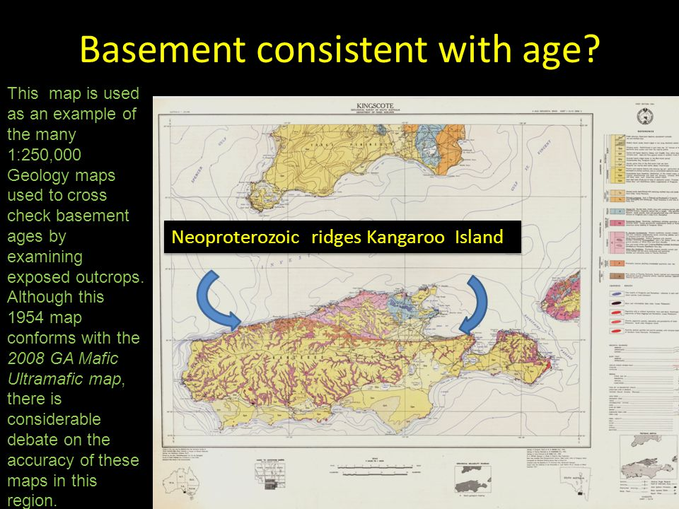 Basement consistent with age