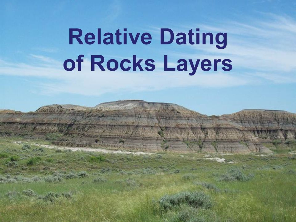 Relative Dating Powerpoint - PowerPoint PPT Presentation