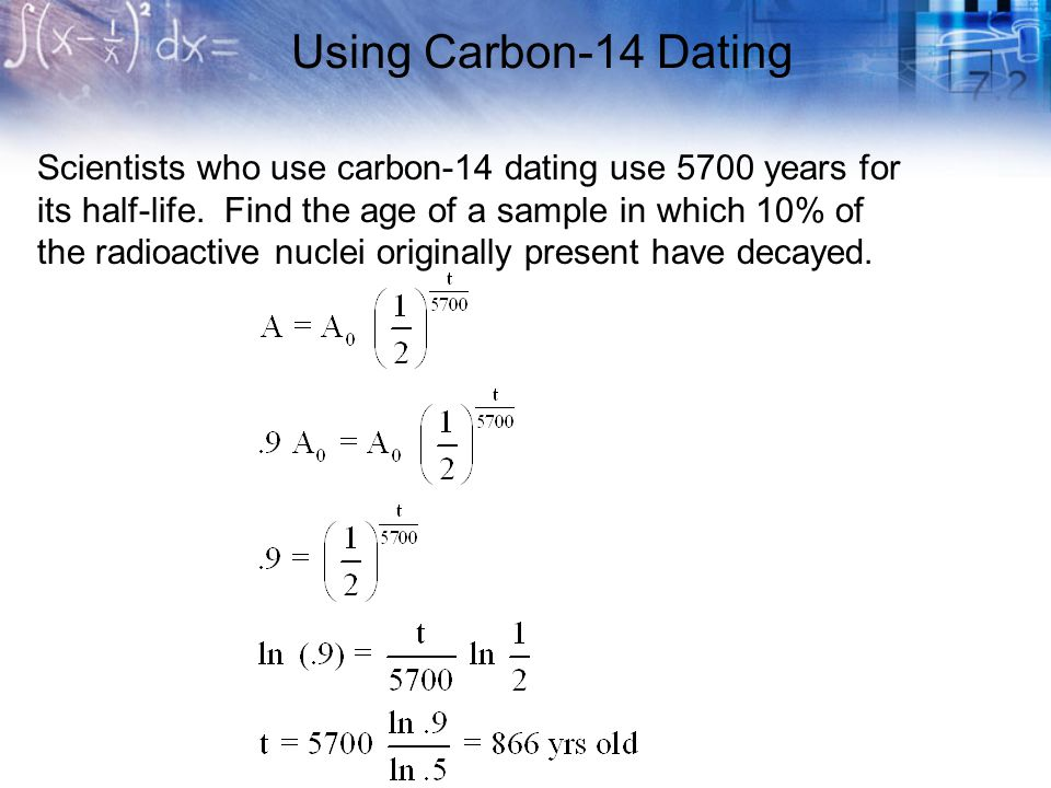 Carbon dating nuclear equation for carbon