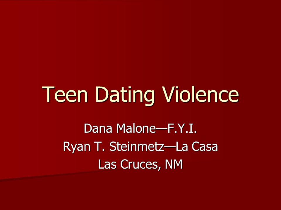 Dana Malone—F.Y.I. Ryan T. Steinmetz—La Casa Las Cruces, NM