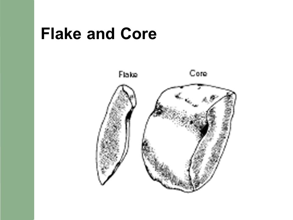 Flake and Core