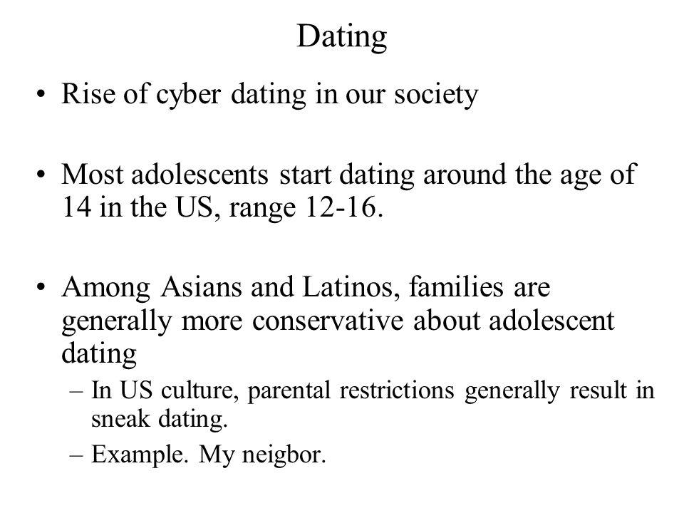Dating Rise of cyber dating in our society