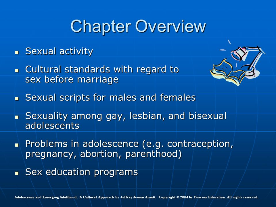 Chapter Overview Sexual activity