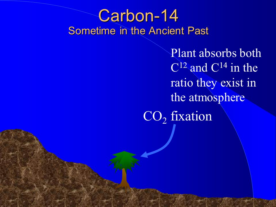 Carbon-14 Sometime in the Ancient Past