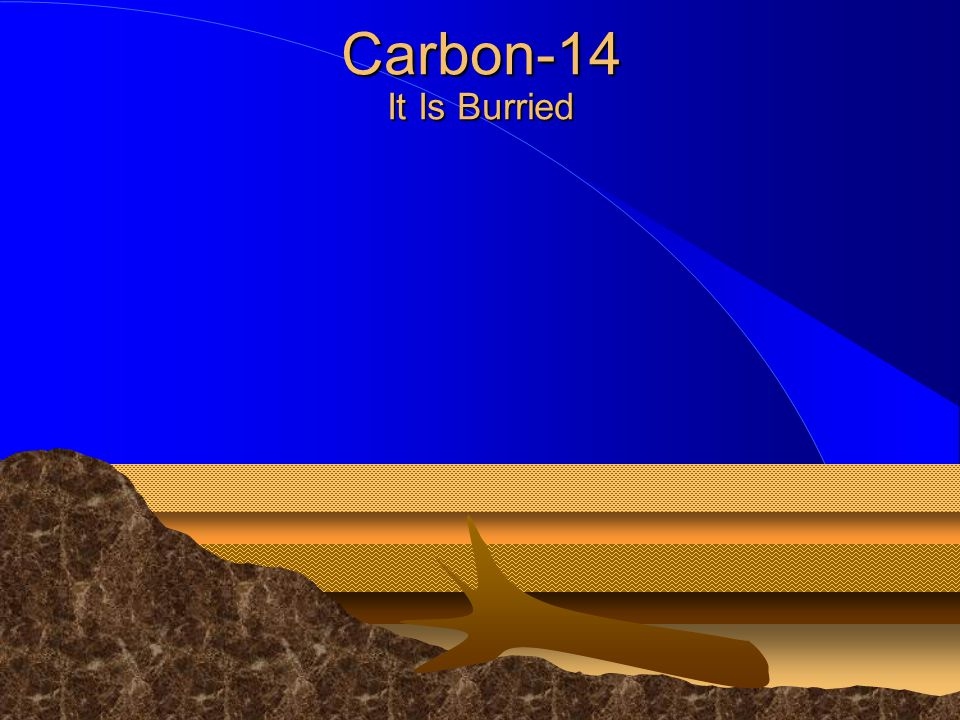 Carbon-14 It Is Burried