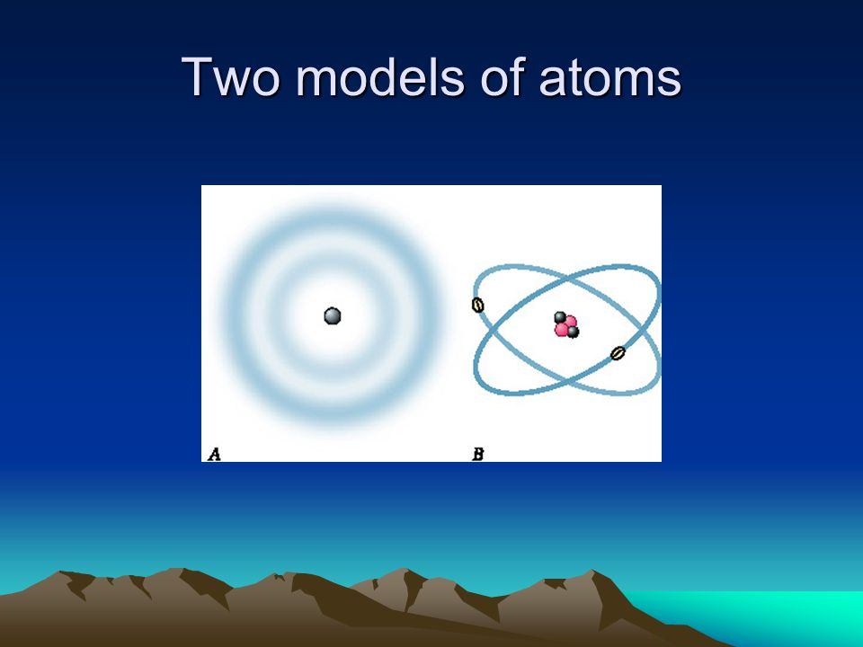 Two models of atoms