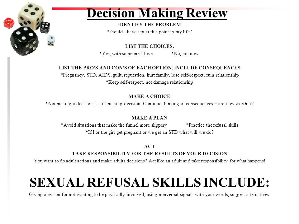 Decision Making Review