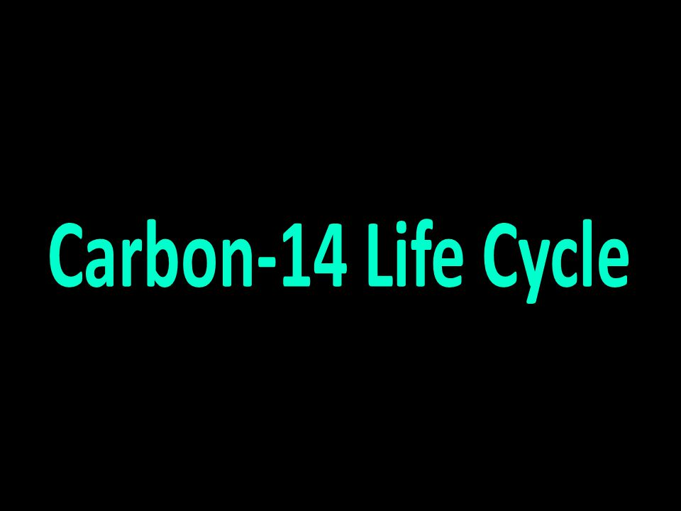Carbon-14 Life Cycle