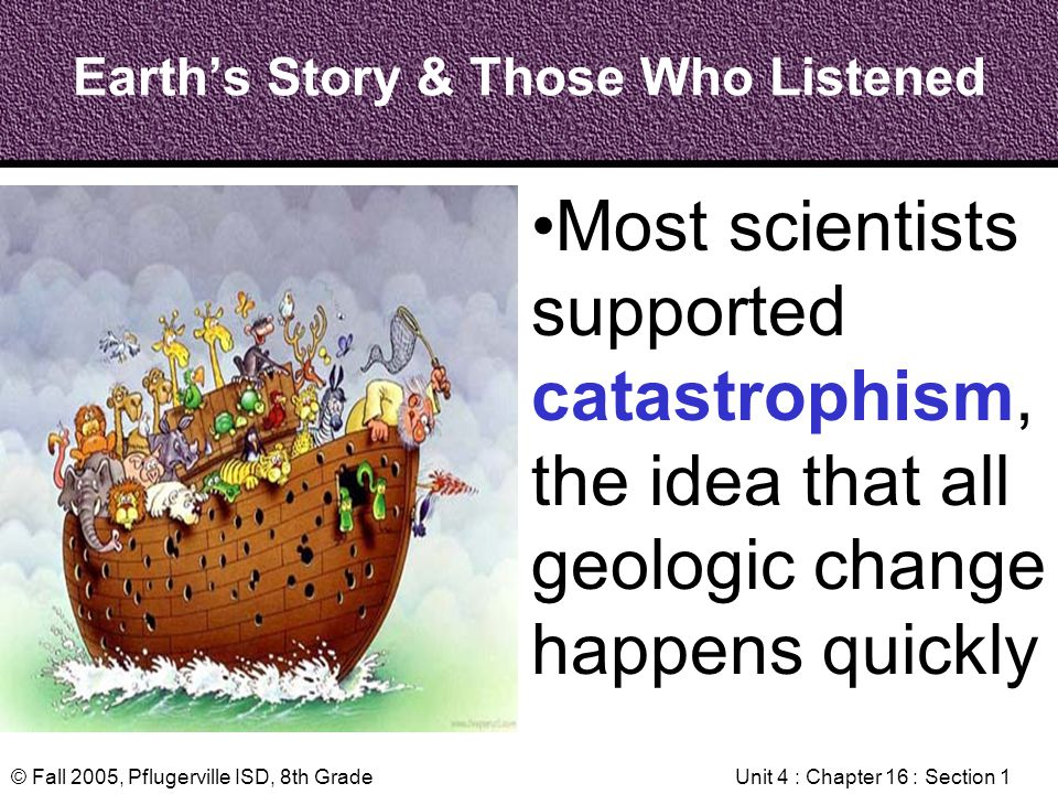 Earth's Story & Those Who Listened
