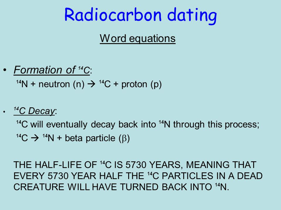 radiocarbon dating calendar years The field of radiocarbon dating has become a technical one it has not been possible to determine the relationship of radiocarbon years to calendar years for.