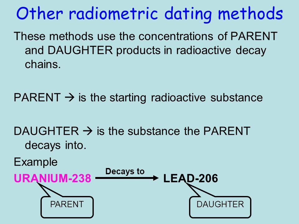 what is radiometric dating used for in science Geologic age dating explained but the most accurate forms of absolute age dating are radiometric relative age dating: use with this cross section of the.