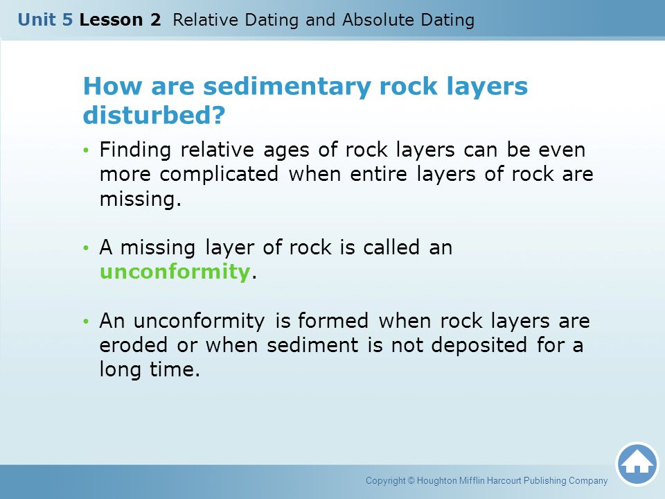 How are sedimentary rock layers disturbed