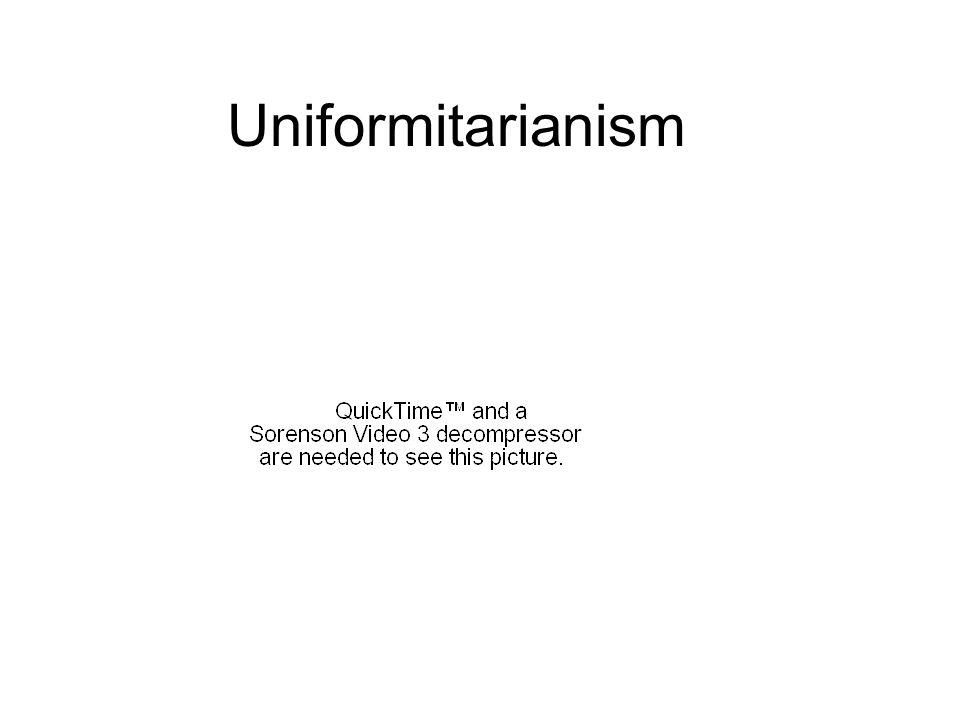 Uniformitarianism