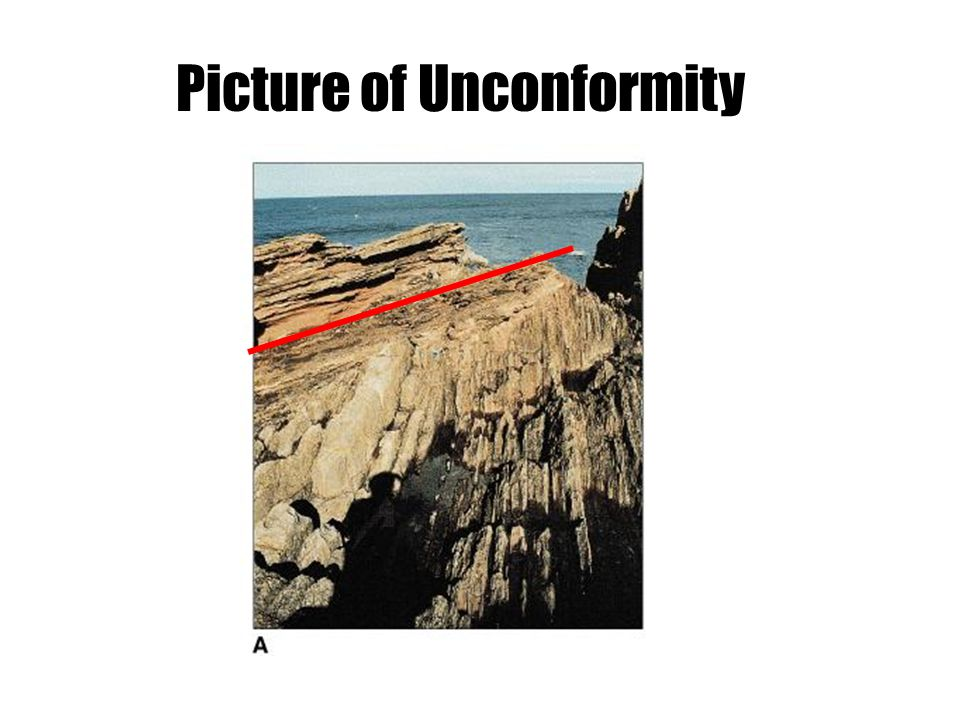 Picture of Unconformity