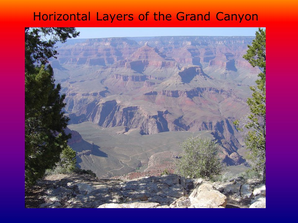 Horizontal Layers of the Grand Canyon