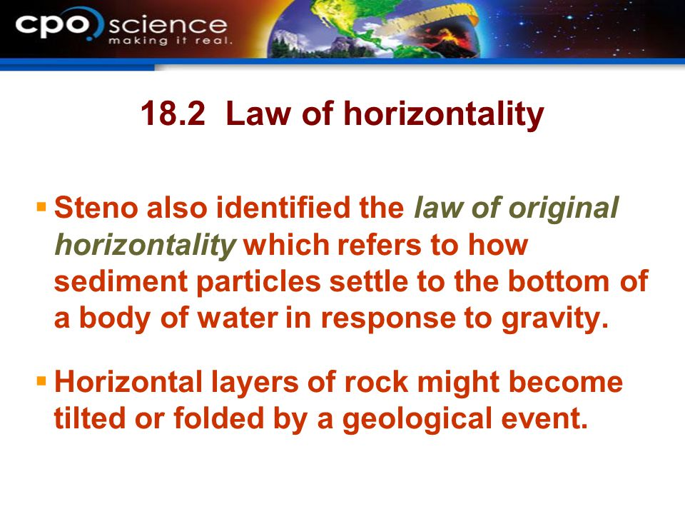 18.2 Law of horizontality