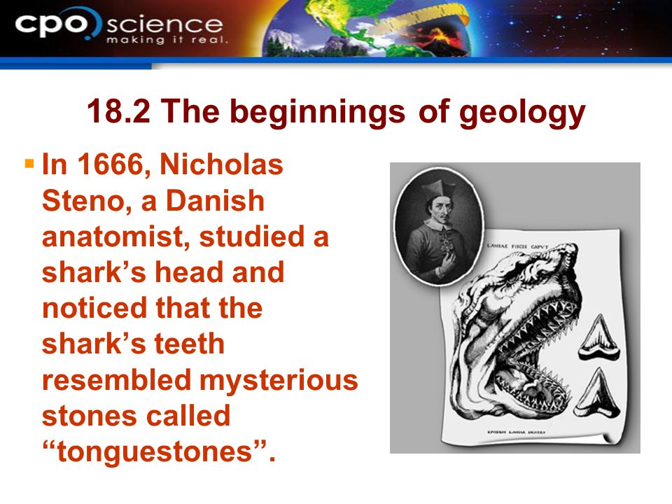 18.2 The beginnings of geology