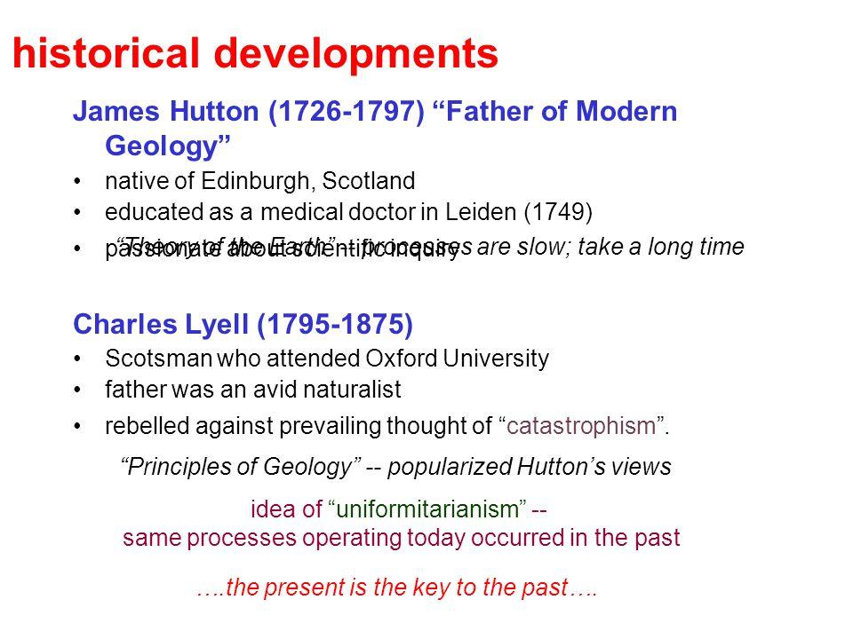 historical developments