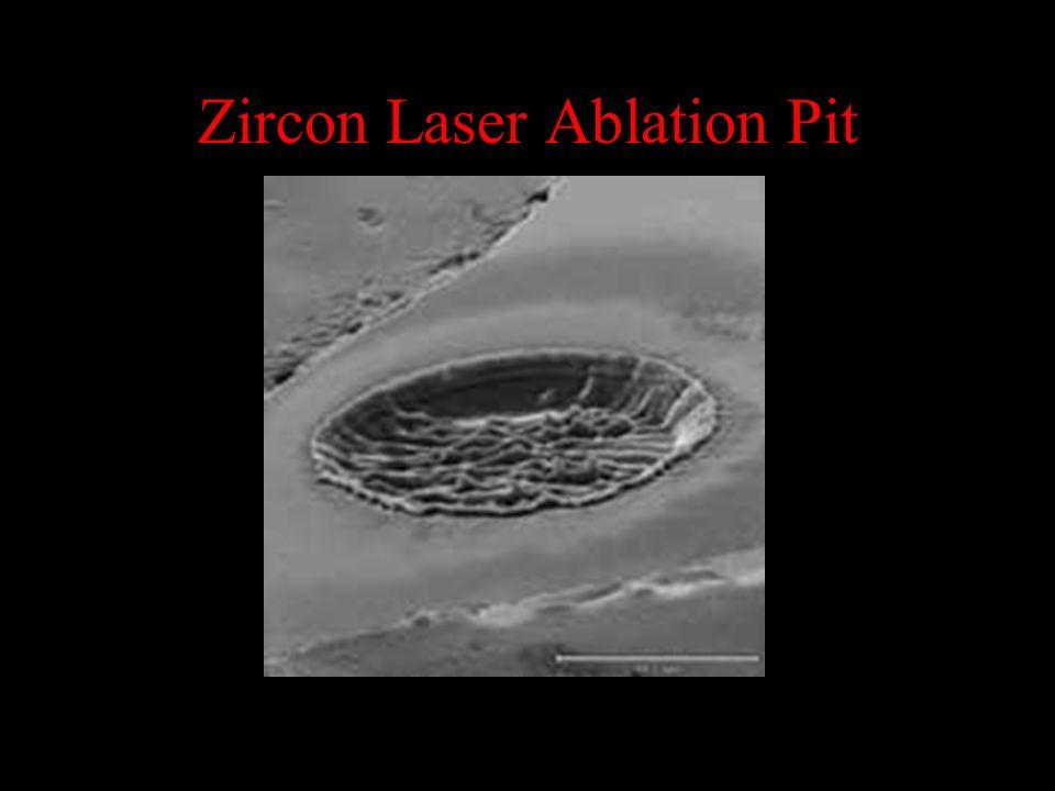 Zircon Laser Ablation Pit