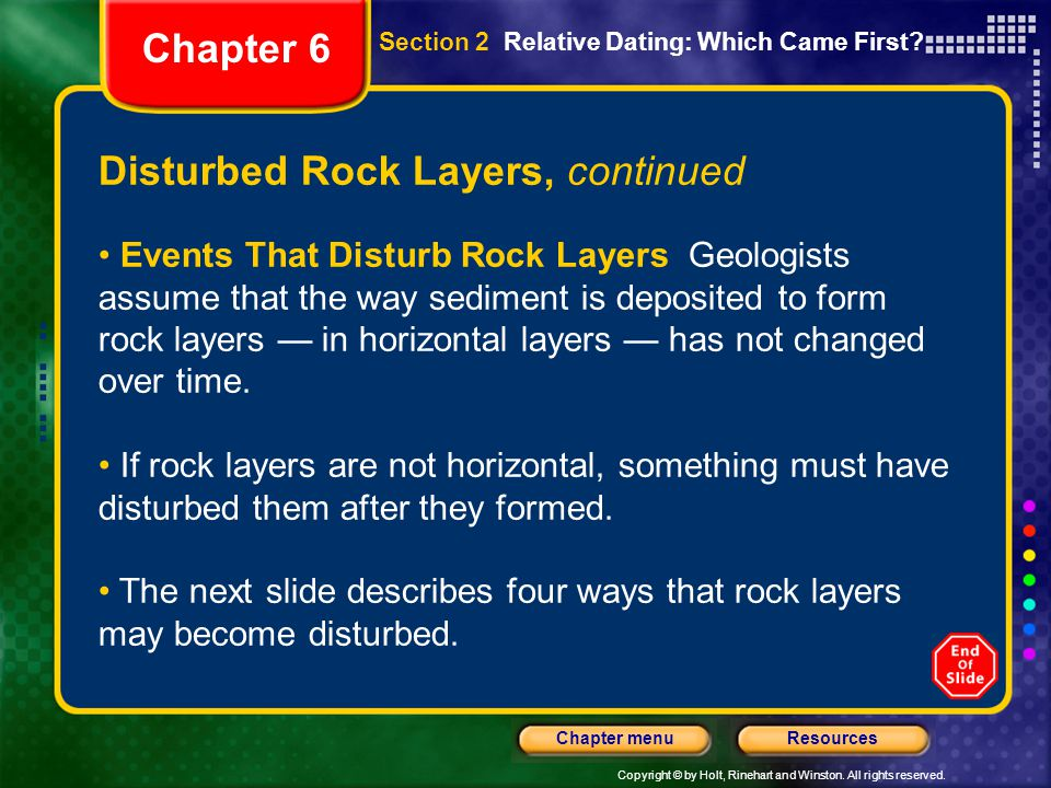 Disturbed Rock Layers, continued