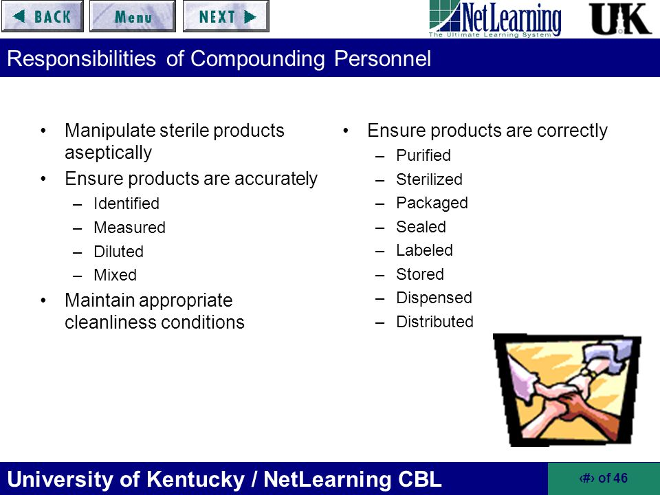 Responsibilities of Compounding Personnel