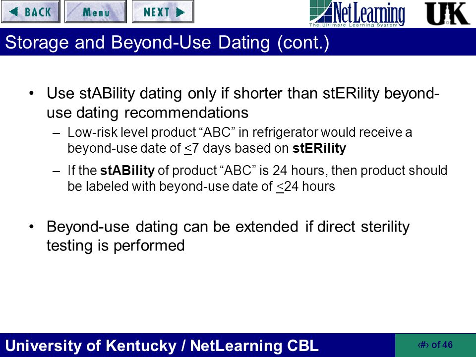 Beyond Beyond Use Dating Revisions - Pharmacy Inspection