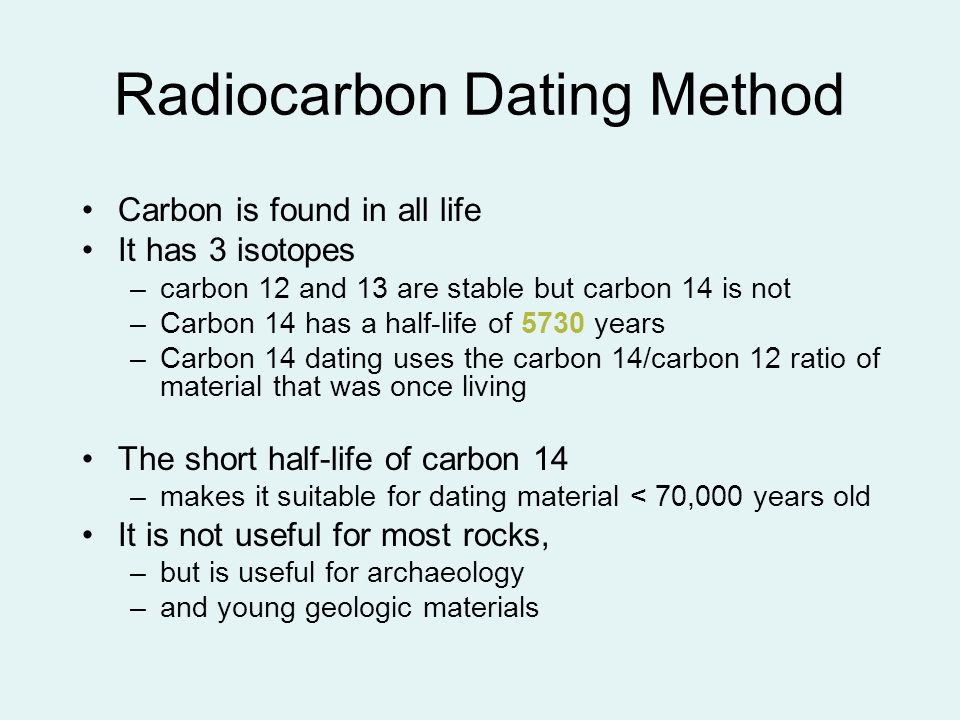 Carbon-14 Is Not Useful For Radioactive Hookup Of Rocks Because