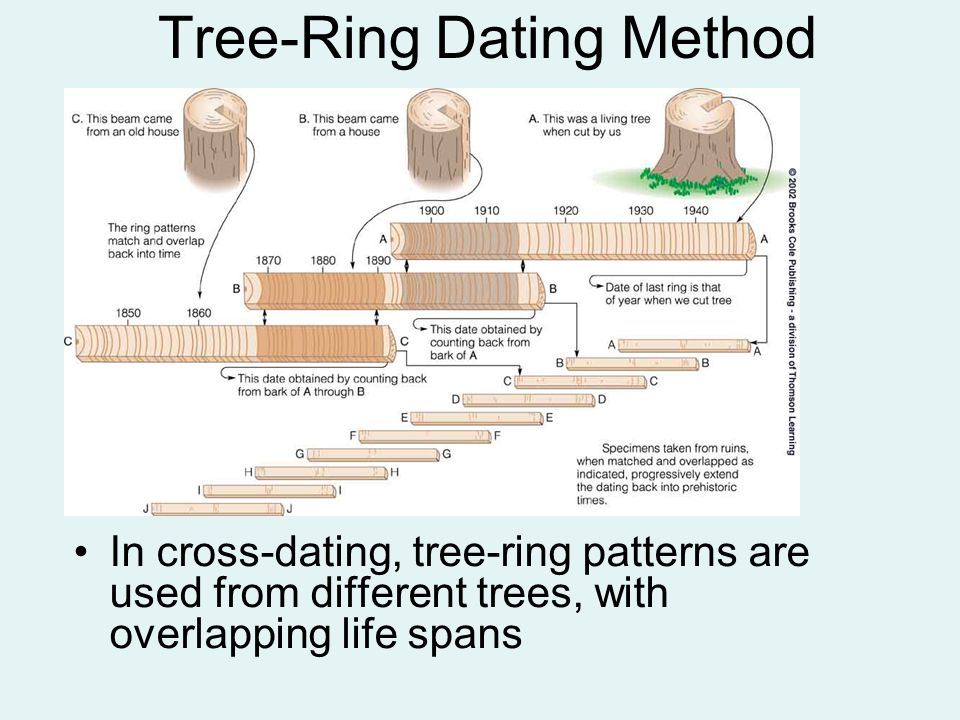 California tree ring dating