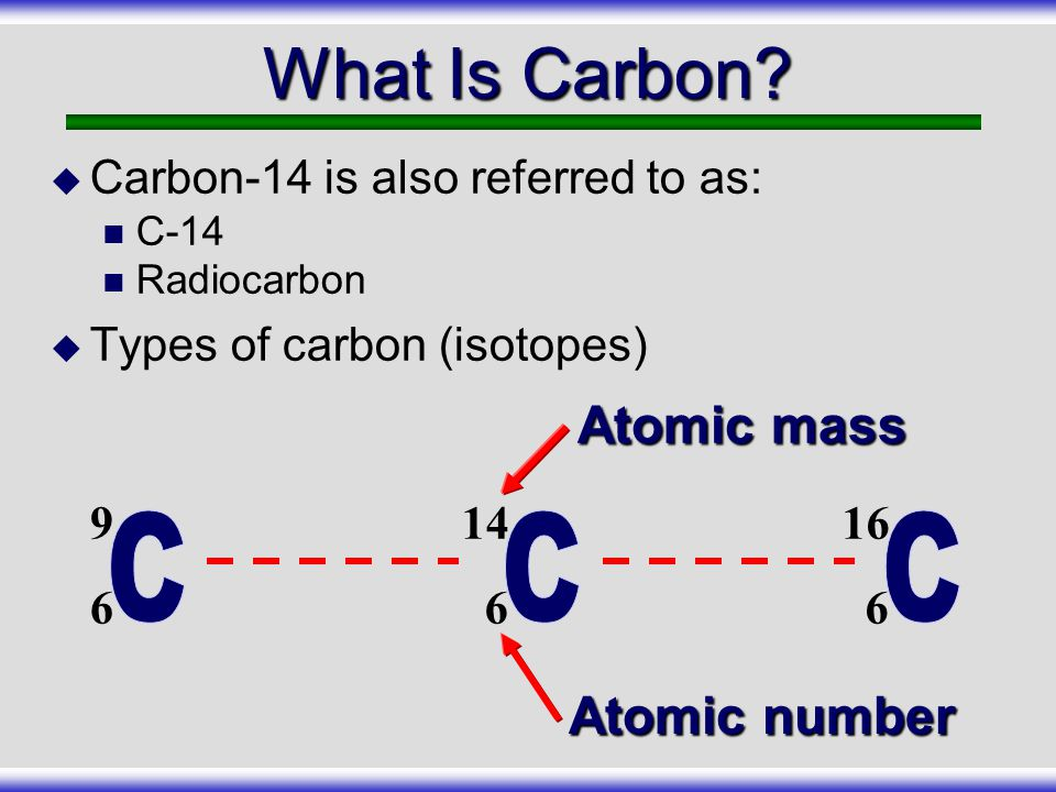 What Is Carbon Atomic mass C Atomic number
