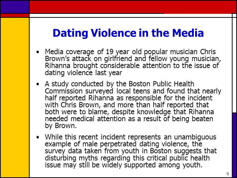 Dating Violence in the Media
