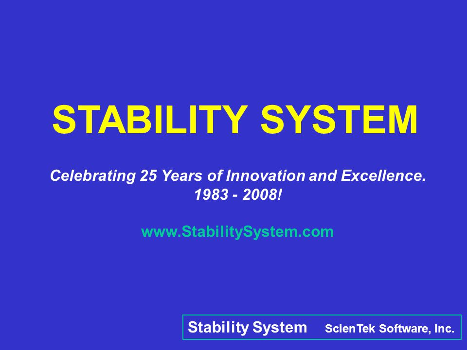 Celebrating 25 Years of Innovation and Excellence.