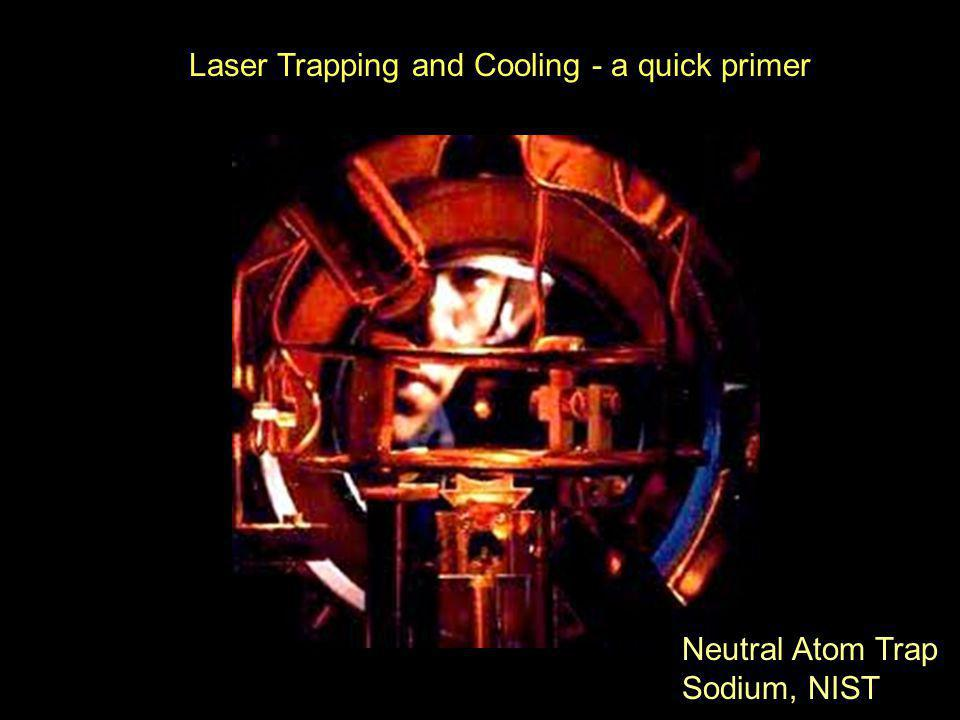 Laser Trapping and Cooling - a quick primer