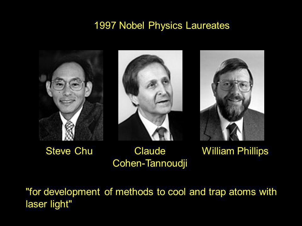 1997 Nobel Physics Laureates