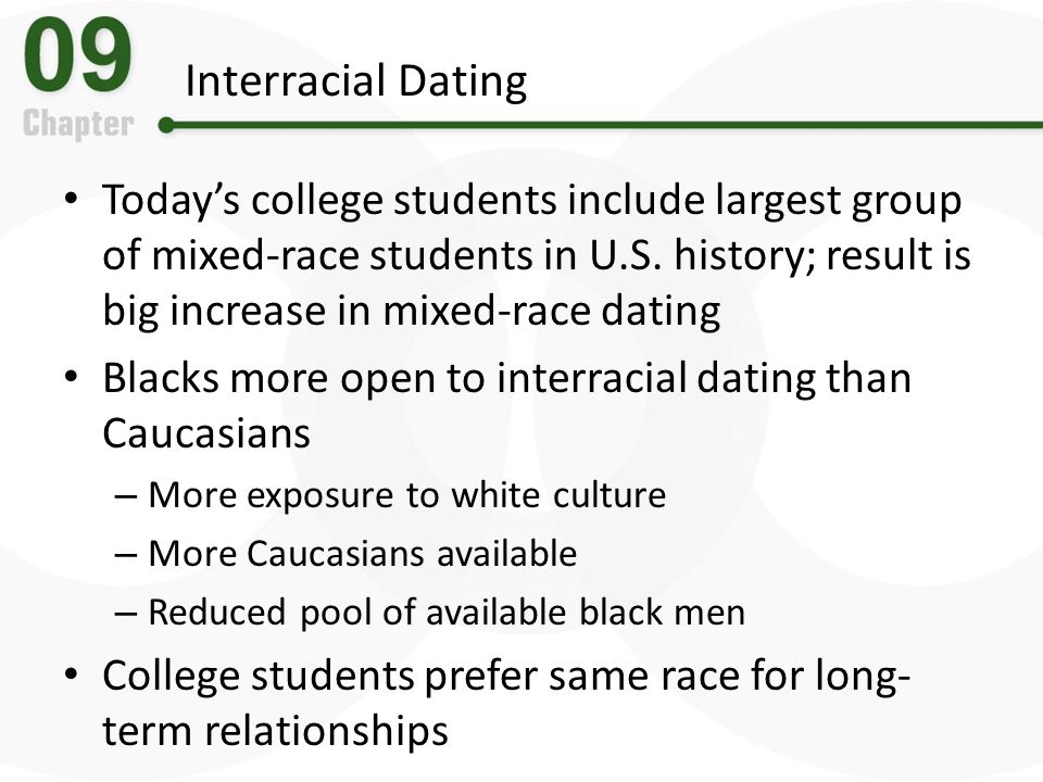interracial dating increase