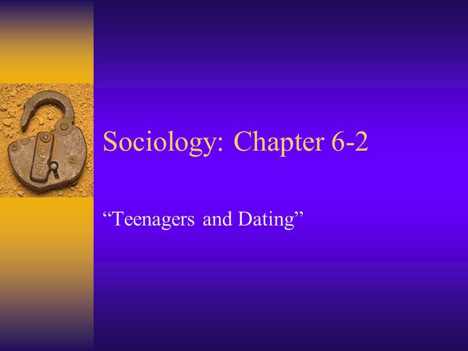 Teenagers and Dating