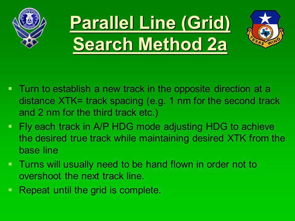 Parallel Line (Grid) Search Method 2a