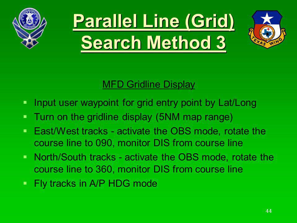 Parallel Line (Grid) Search Method 3