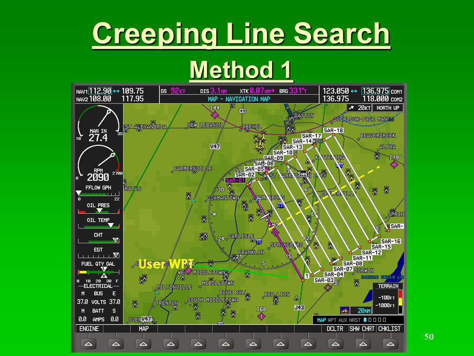 Creeping Line Search Method 1