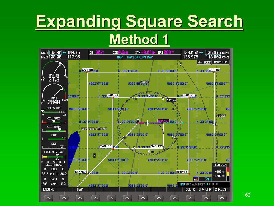Expanding Square Search Method 1