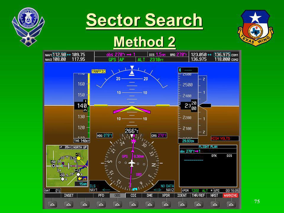 Sector Search Method 2