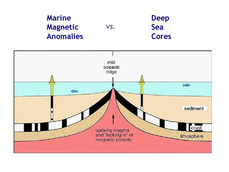 Marine Magnetic Anomalies