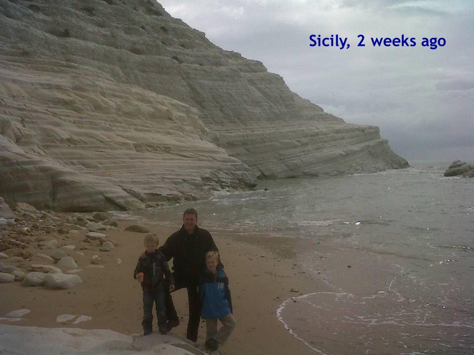 Sicily, 2 weeks ago