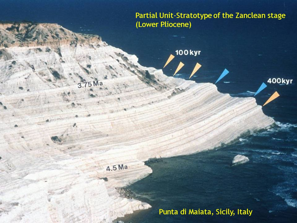 Partial Unit-Stratotype of the Zanclean stage (Lower Pliocene)