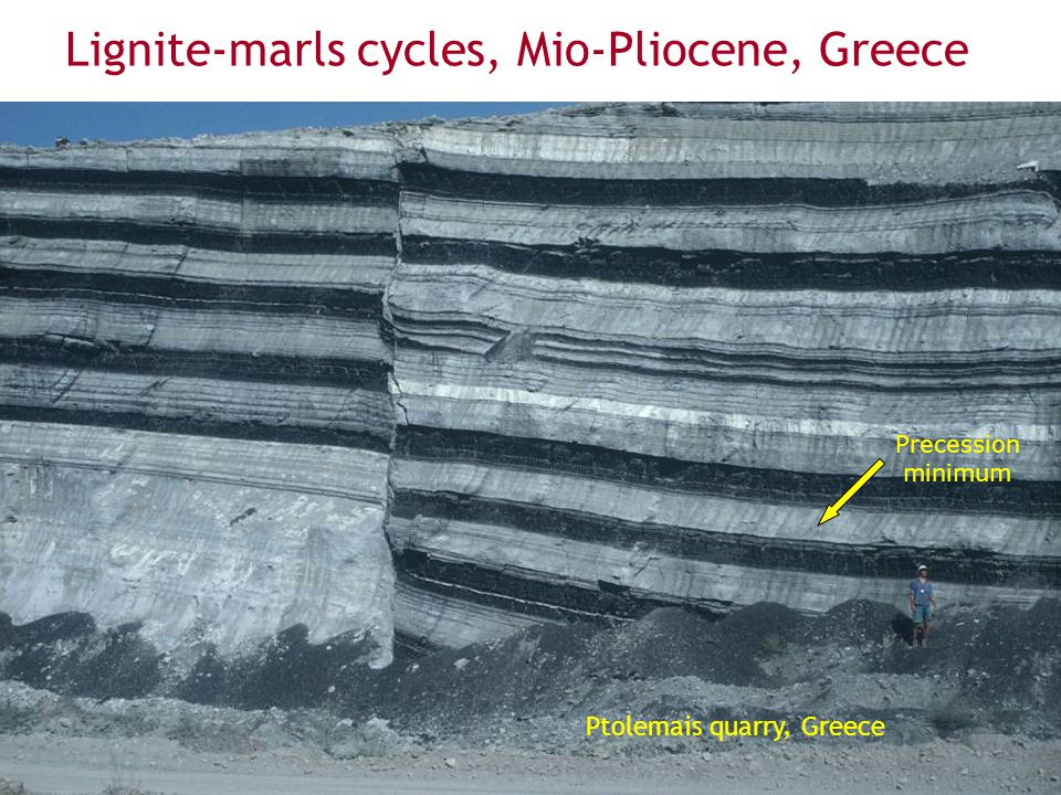 Lignite-marls cycles, Mio-Pliocene, Greece