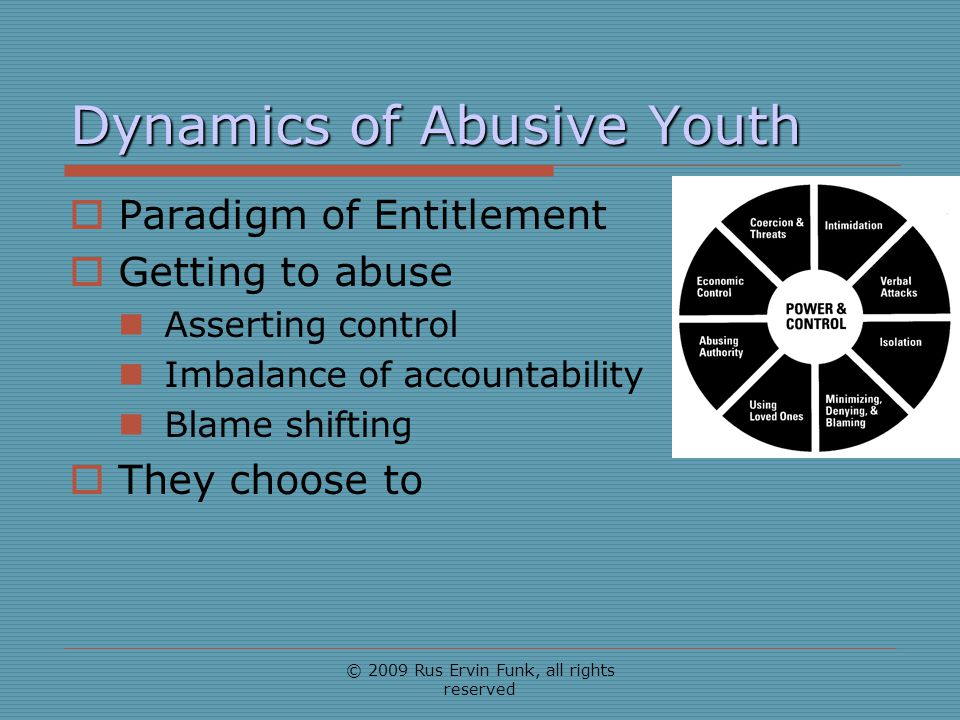 Dynamics of Abusive Youth