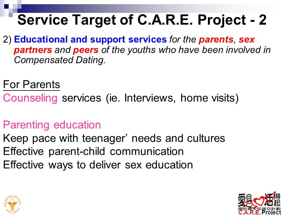 Service Target of C.A.R.E. Project - 2